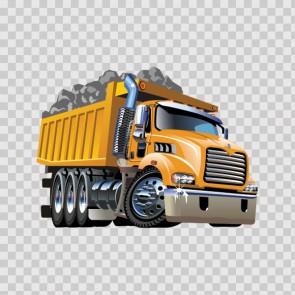 Dump Track Caricature 12249
