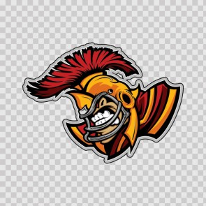 Roman Baseball Mascot 12287