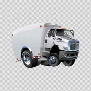 Caricature Truck 12343