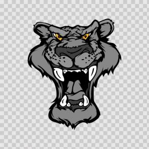 Black Panther Head 12356