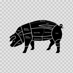 Pig Meat Pork Chart 12389