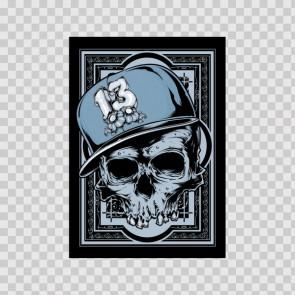 Gang Member Skull 12395