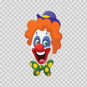 Clown Head 12699