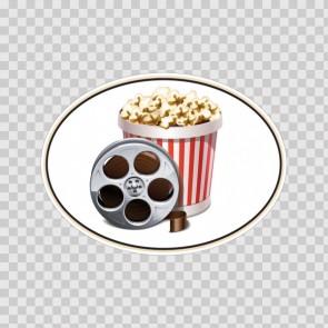 Movie Reel Cinema Pop Corn 12733