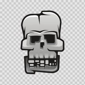 Graffitti Skull 12751
