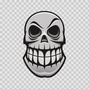 Graffitti Skull 12753