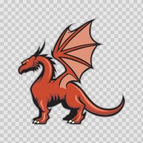 Dragon Mascot 12757
