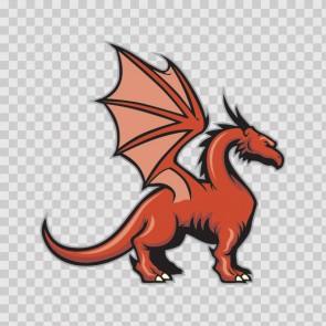 Dragon Mascot 12758