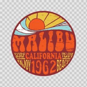 Malibu Surf Sign 12915