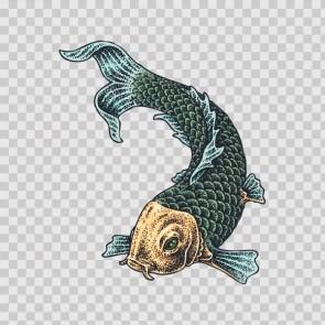 Japanese Koi Fish 12942