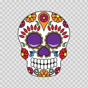 Floral Skull 12962