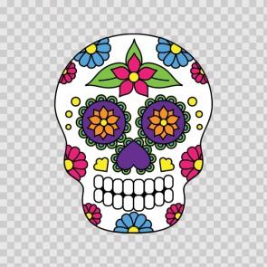 Floral Skull 12965