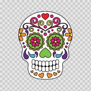 Floral Skull 12966