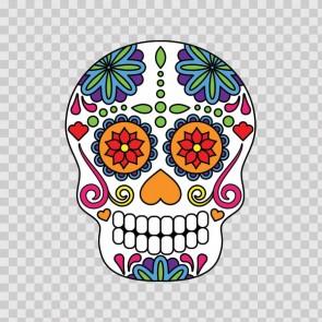 Floral Skull 12967