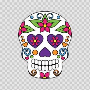 Floral Skull 12969