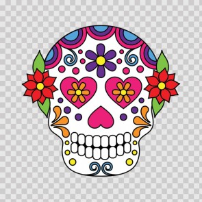 Floral Skull 12971