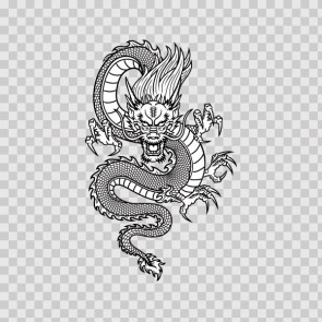 Martial Arts Dragon 12973