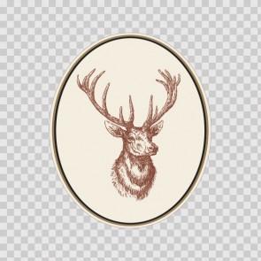 Deer Lineart 12995
