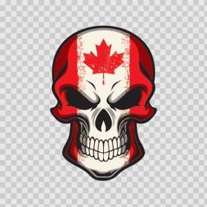 Flag Skull Canada 12999