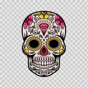 Floral Skull 13011