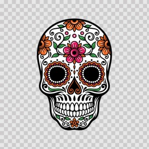 Floral Skull 13014