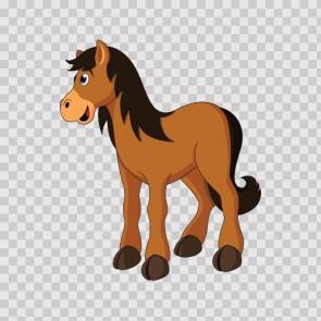 Cartoon Horse 13025
