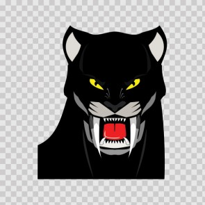 Black Panther Head 13038