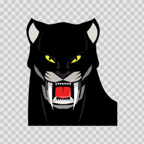 Black Panther Head 13039