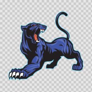 Blue Black Panther 13068