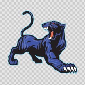 Blue Black Panther 13069