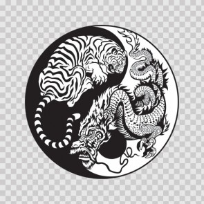 Dragon Tiger Yin Yang 13133