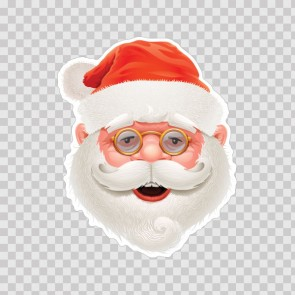 Santa Claus Head 13160