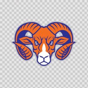 Ram Mascot Head 13167