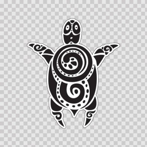 Tribal Surf Style Native Turtle 13181