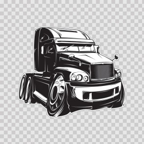Caricature Big Truck 13204