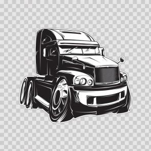 Caricature Big Truck 13204