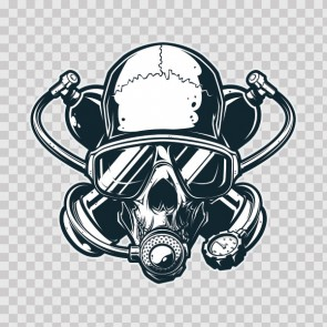 Scuba Skull 13205