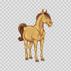 Happy Horse Cartoon 13206
