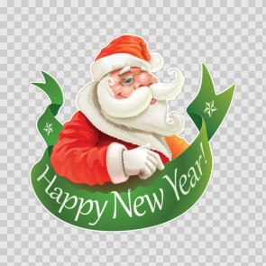 Happy New Year Santa Claus 13231