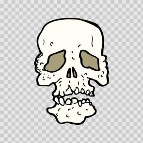 Cartoon Skull 13248
