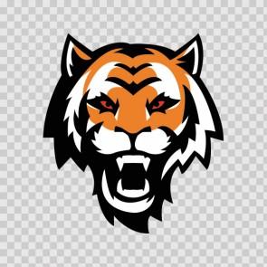 Tiger Head 13254