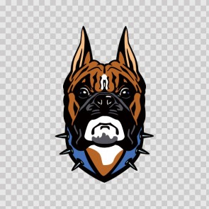 Boxer Dog Head 13267