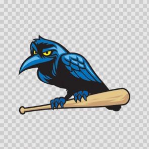 Baseball Crow 13349