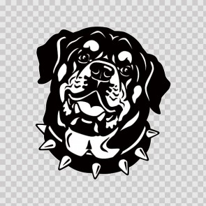 Rottweiler Head 13387