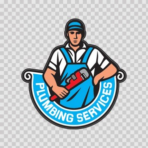 Plumbing Services Sign 13388