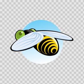 Bee Flying 13398