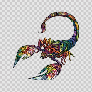 Floral Scorpion 13402