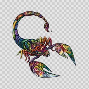 Floral Scorpion 13403