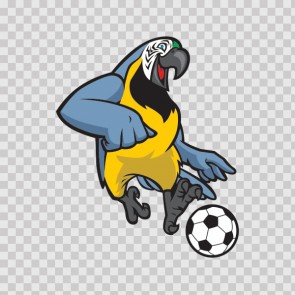 Parrot Football Soccer Player 13422
