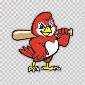 Baseball Red Bird 13427